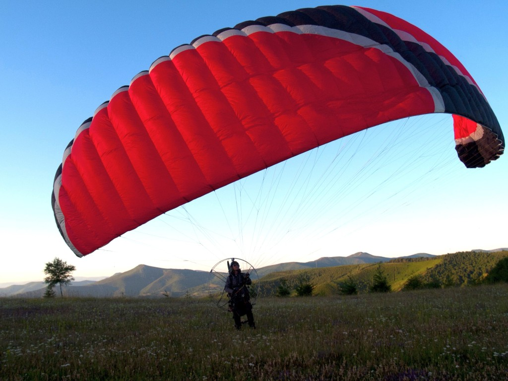Paramotor wing Madness Skyjam Paragliders